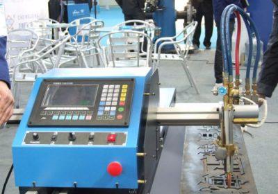 Gantry Tegund Tvöfaldur öflugur CNC Flame Plasma Skurður Machine í sölu