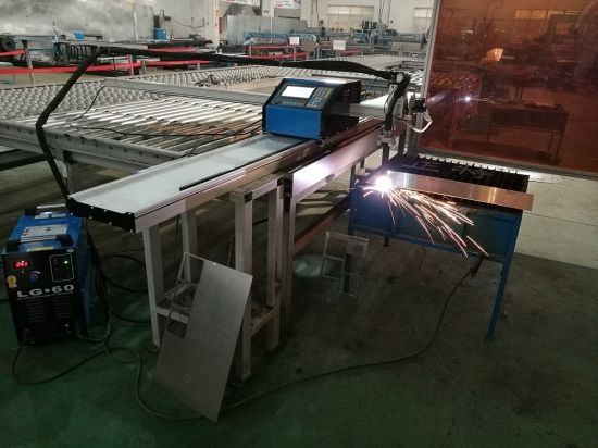 1560 Heavy duty CNC plasma klippa vél Kína