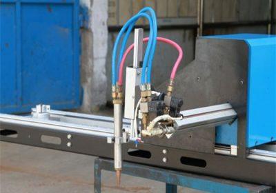 Mini gantry CNC Plasma Skurður Machine / CNC Gas Plasma skútu