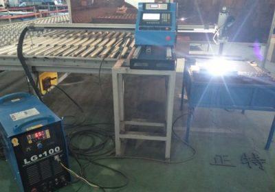 Sjálfvirk Gantry gerð CNC Plasma klippa vél / lakmál plasma skútu