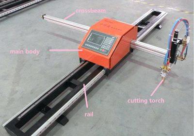 málm flytjanlegur CNC plasma og loga klippa vél plasma skeri 1530