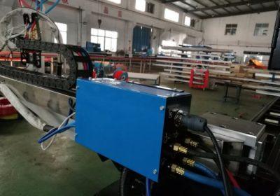 Gantry CNC gas plasma skera vél verð