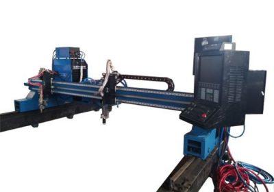 CNC plasma gantry klippa vél